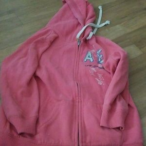 American Eagle Outfitters Pink Sweatshirt